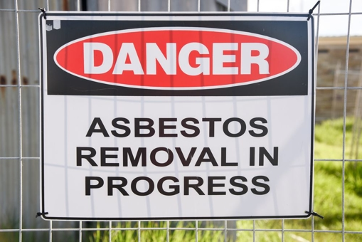 Asbestos Removal Warning